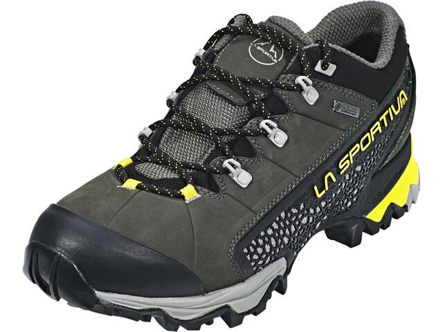 La Sportiva Genesis GTX Shoes Herren carbon/citronelle